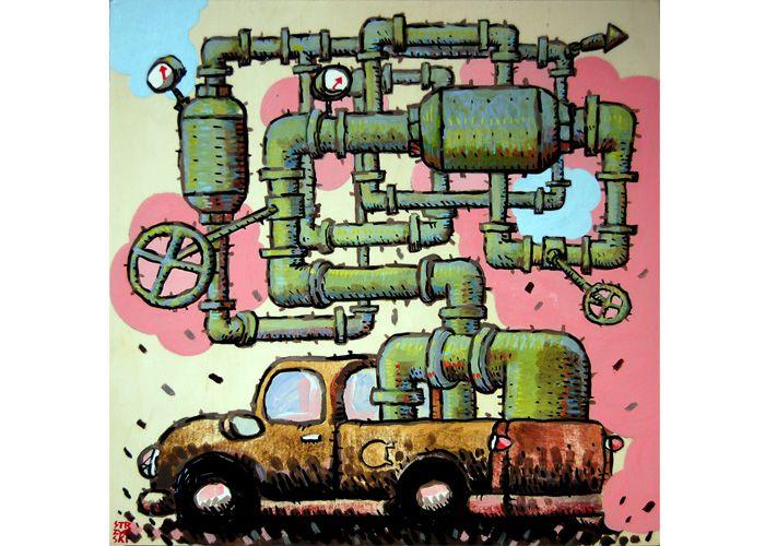 Dylan Strzynski   Pipe Truck
