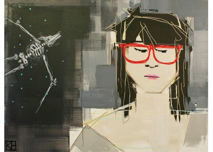 Katie Halton   Self-Portrait