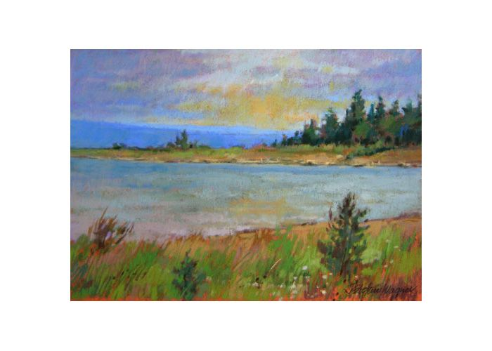 Jill Wagner   Lake Michigan, Late Afternoon