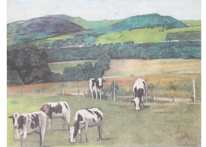 Richard Wilt | Cows in Pasture, near Monroton