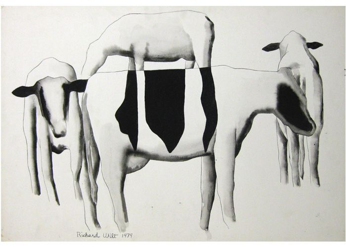Richard Wilt | Cows - Round and Round, 1979