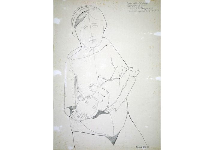 Richard Wilt | Mother Nursing Child