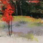 "Lesa Chittenden Lim | Autumn VI | Pastel | 21"" x 17"""