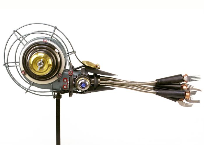 John Schwarz – Nautilus 2 | found object assemblage