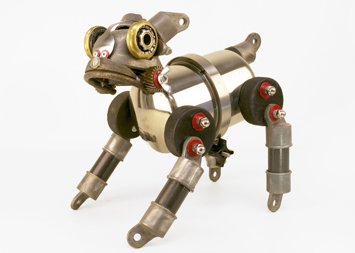 John Schwarz – Scrappy | found object assemblage