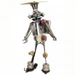 John Schwarz – Wizbot | found object assemblage